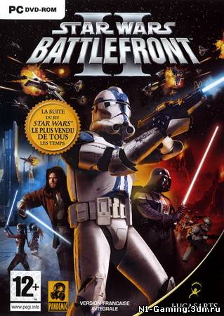 Star Wars Battlefront 2 (2003/PC/Rus) Размер: 1.17 Гб