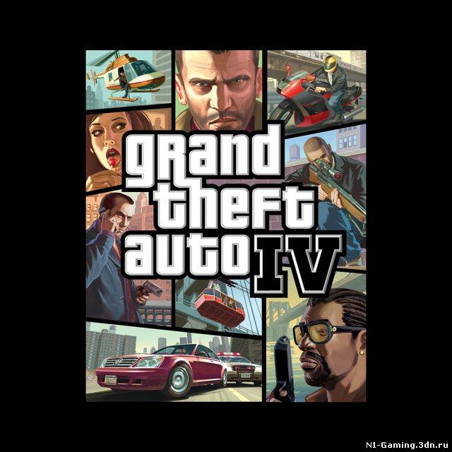 Grand Theft Auto IV (2008) PC | Патчи + Кряки + Русификаторы (2009-2010) Размер: 1.15 Гб